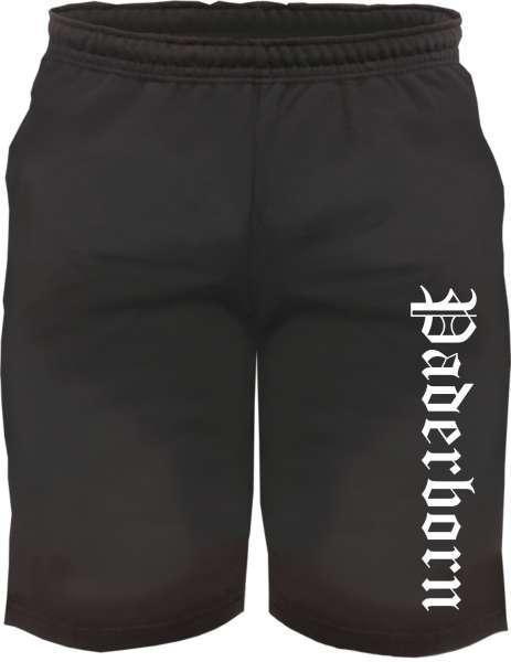 Paderborn Sweatshorts - Altdeutsch bedruckt - Kurze Hose Shorts