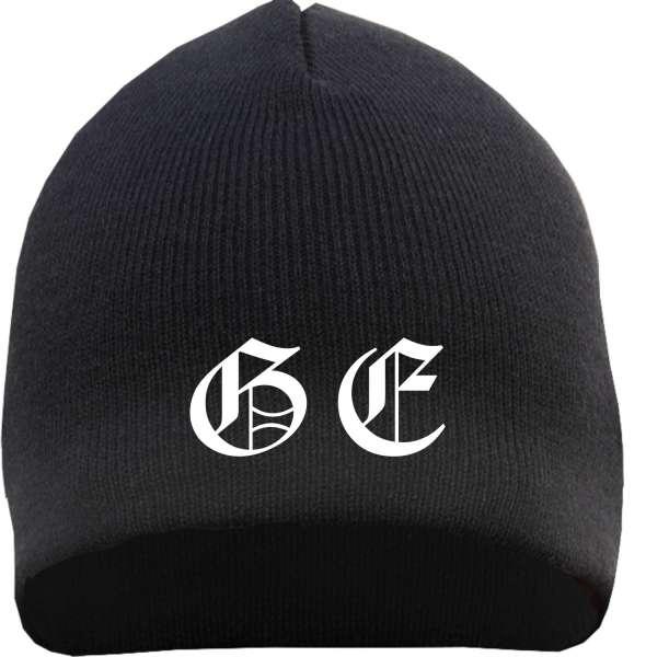 GE Beanie - bestickt - Mütze Gelsenkirchen Mütze