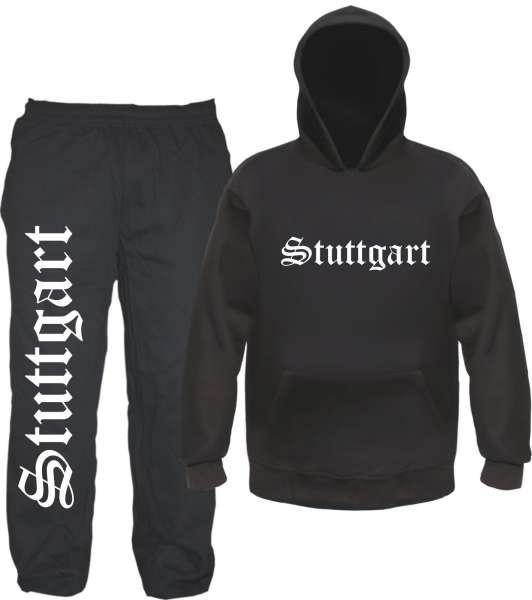 Stuttgart Jogginganzug - Altdeutsch - Jogginghose und Hoodie