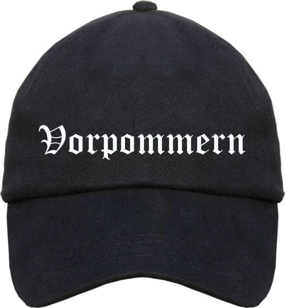 Vorpommern Cappy - Altdeutsch bedruckt - Schirmmütze Cap