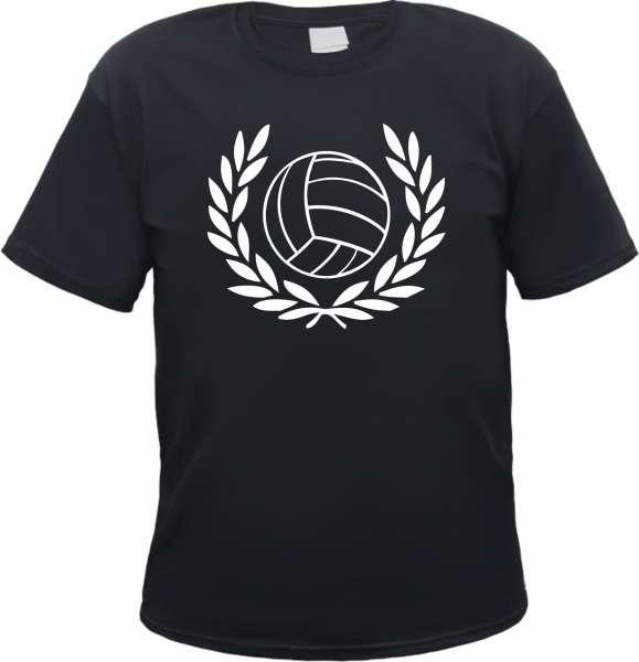 Lorbeerkranz und Fussball T-Shirt