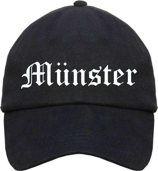 Münster Cappy - Altdeutsch bedruckt - Schirmmütze Cap