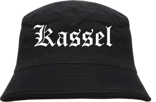 Kassel Fischerhut - Altdeutsch - bedruckt - Bucket Hat Anglerhut Hut