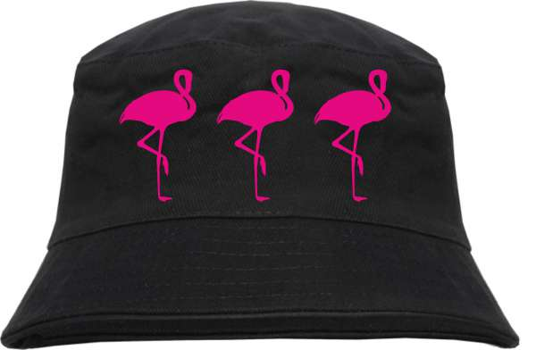 3 FLAMINGOS Fischerhut - Bucket Hat