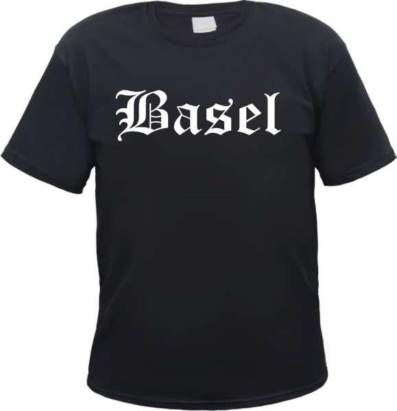 Basel Herren T-Shirt - Altdeutsch - Tee Shirt
