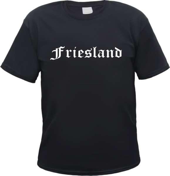 Friesland Herren T-Shirt - Altdeutsch - Tee Shirt