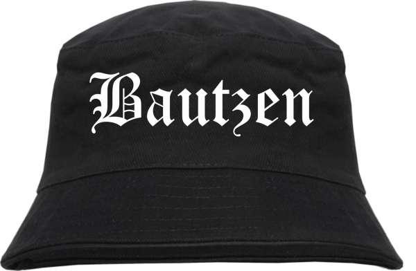 Bautzen Fischerhut - Altdeutsch - bedruckt - Bucket Hat Anglerhut Hut