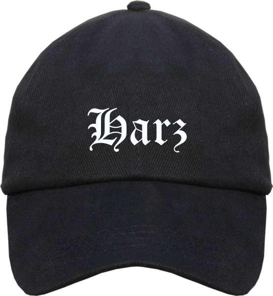 Harz Cappy - Altdeutsch bedruckt - Schirmmütze Cap