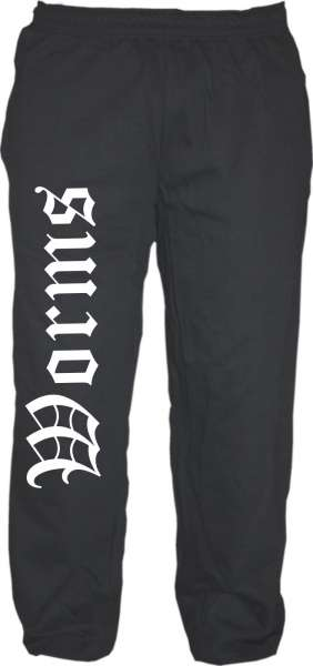 Worms Jogginghose - Altdeutsch - Sweatpants - Jogger - Hose