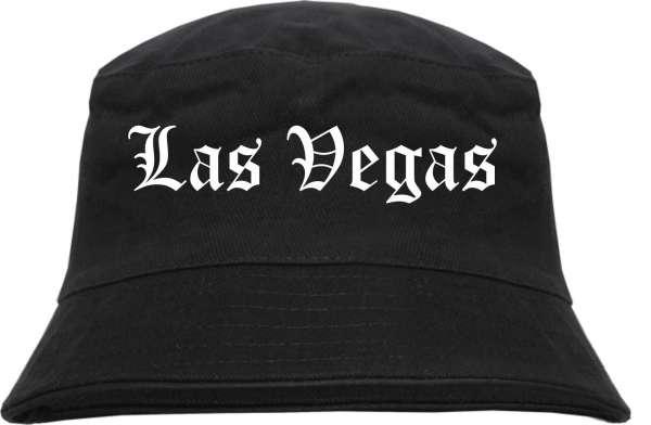 Las Vegas Fischerhut - Altdeutsch - bedruckt - Bucket Hat Anglerhut Hut