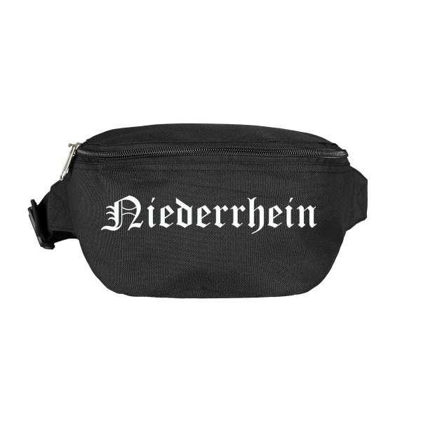 Niederrhein Bauchtasche - Altdeutsch bedruckt - Gürteltasche Hipbag