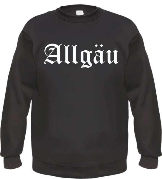 Allgäu Sweatshirt - Altdeutsch - bedruckt - Pullover