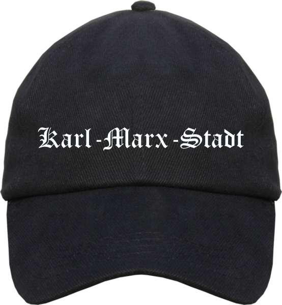 Karl-Marx-Stadt Cappy - Altdeutsch bedruckt - Schirmmütze Cap