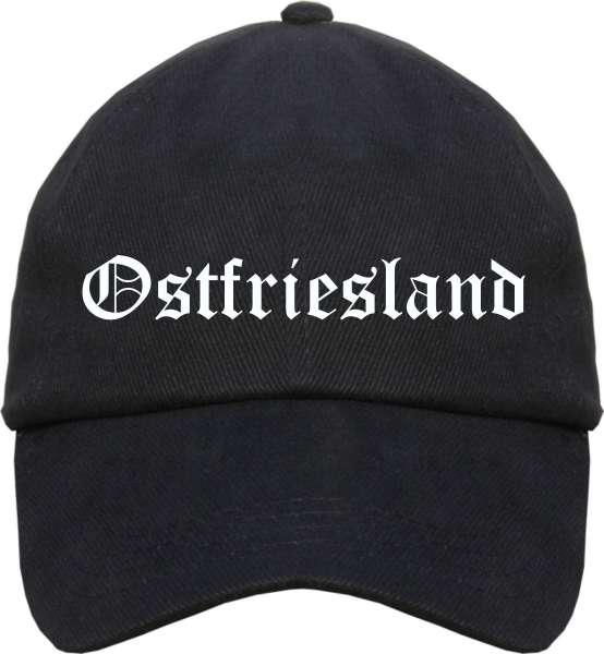 Ostfriesland Cappy - Altdeutsch bedruckt - Schirmmütze Cap