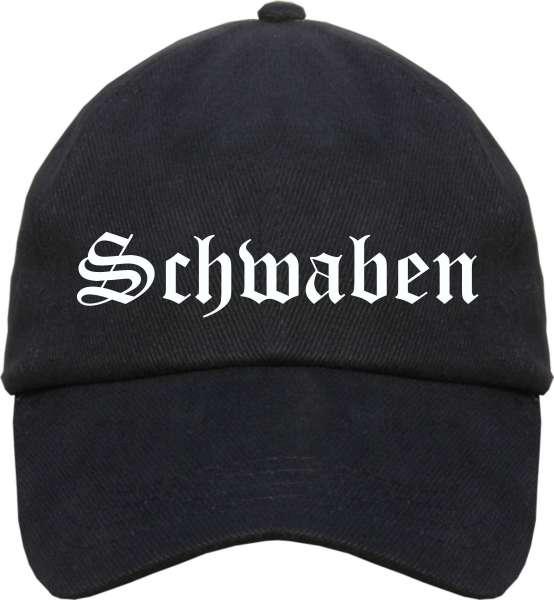 Schwaben Cappy - Altdeutsch bedruckt - Schirmmütze Cap