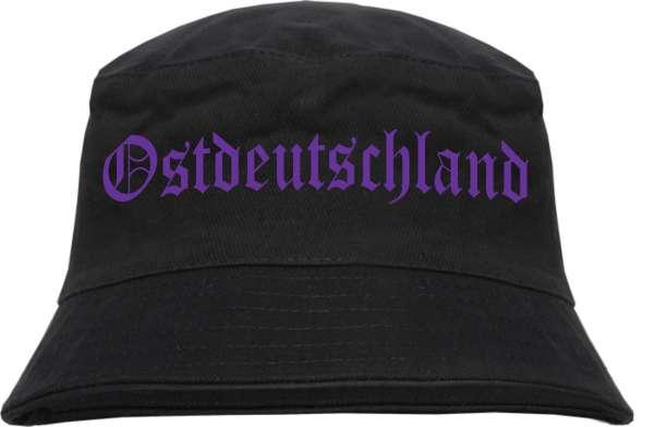 Ostdeutschland Fischerhut - Druckfarbe Lila - Bucket Hat