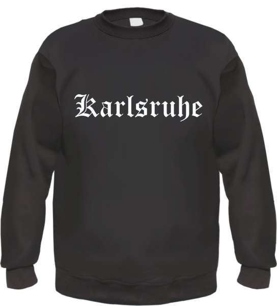 Karlsruhe Sweatshirt - Altdeutsch - bedruckt - Pullover