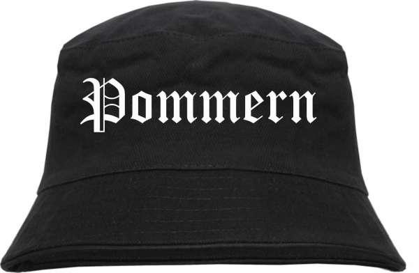 Pommern Fischerhut - Altdeutsch - bedruckt - Bucket Hat Anglerhut Hut
