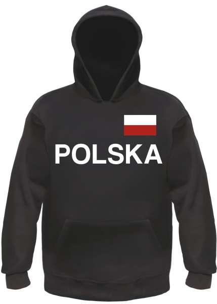 Polska Polen Kapuzensweatshirt - bedruckt - Hoodie Kapuzenpullover