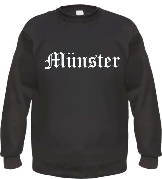 Münster Sweatshirt - Altdeutsch - bedruckt - Pullover