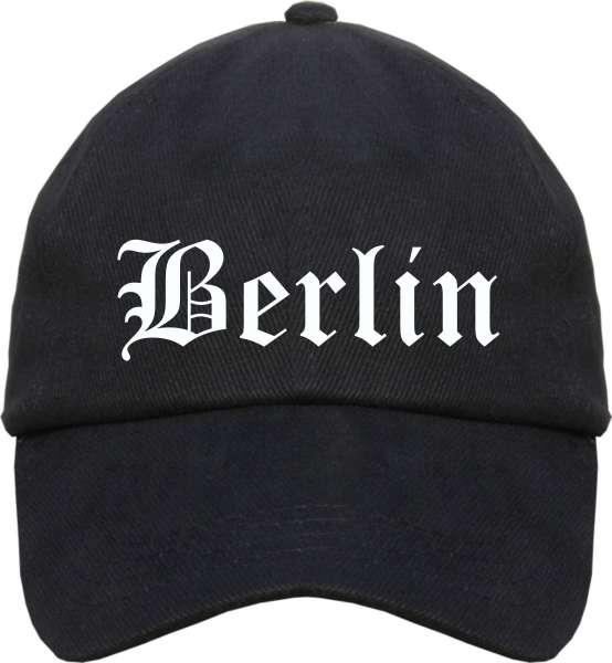 Berlin Cappy - Altdeutsch bedruckt - Schirmmütze Cap