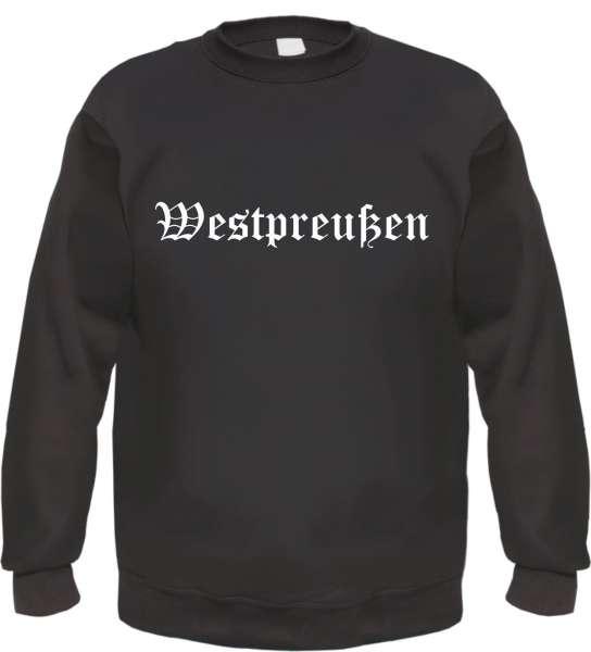 Westpreußen Sweatshirt - Altdeutsch - bedruckt - Pullover