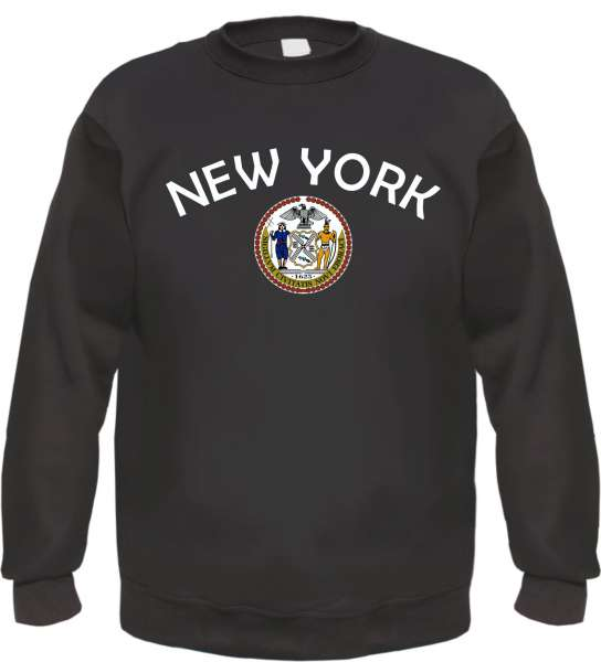 New York Sweatshirt - bedruckt - Pullover