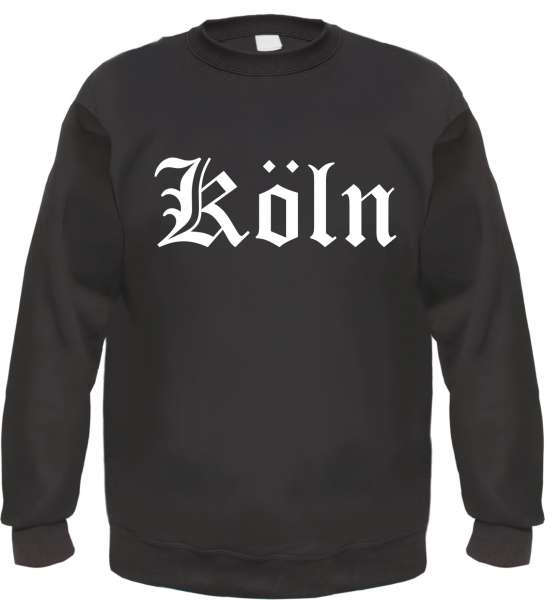 Köln Sweatshirt - Altdeutsch - bedruckt - Pullover