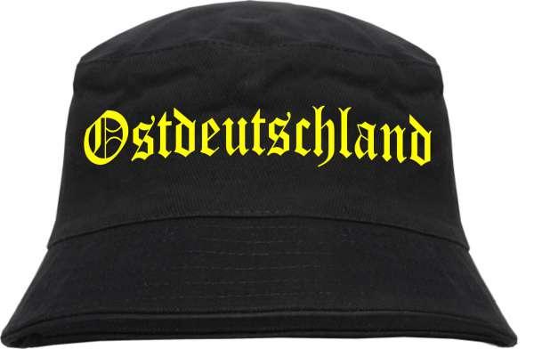 Ostdeutschland Fischerhut - Druckfarbe Gelb - Bucket Hat