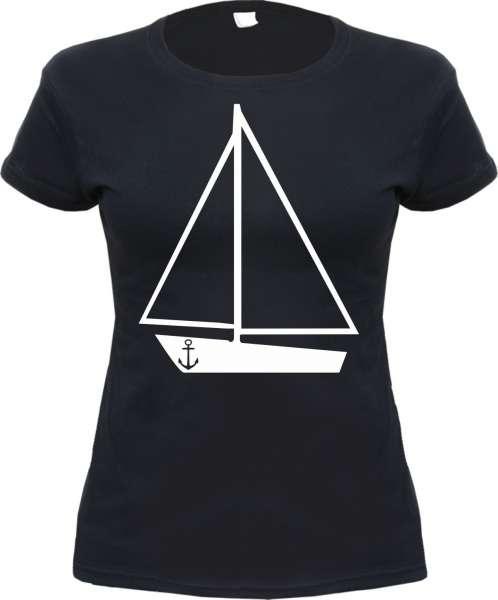 Segelschiff Damen T-Shirt