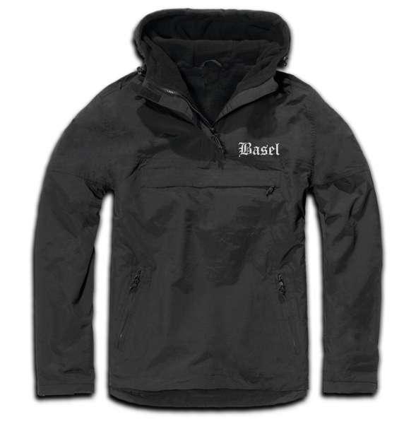 Basel Windbreaker - Altdeutsch - bestickt - Winterjacke Jacke