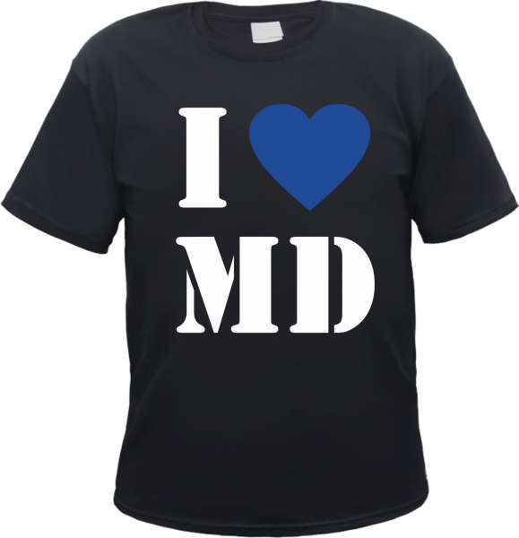 Magdeburg T-Shirt - I Love MD
