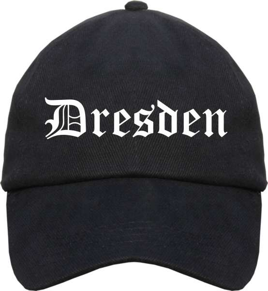 Dresden Cappy - Altdeutsch bedruckt - Schirmmütze Cap