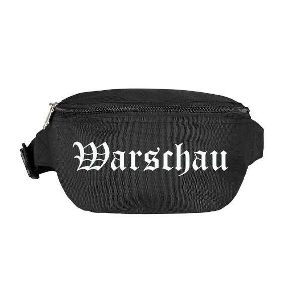 Warschau Bauchtasche - Altdeutsch bedruckt - Gürteltasche Hipbag