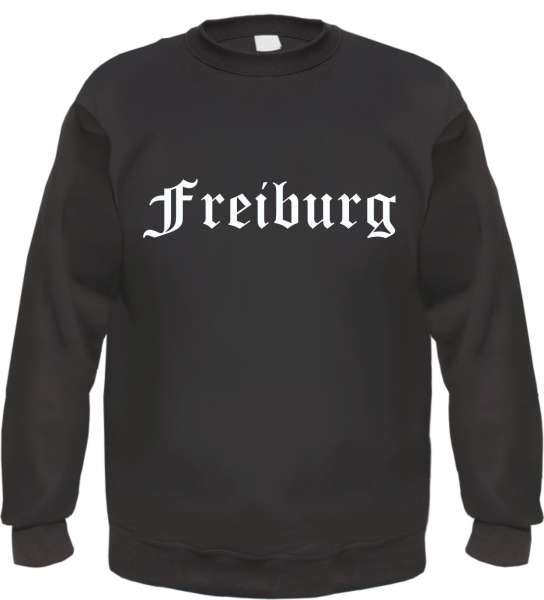 Freiburg Sweatshirt - Altdeutsch - bedruckt - Pullover