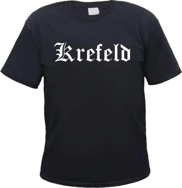 Krefeld Herren T-Shirt - Altdeutsch - Tee Shirt