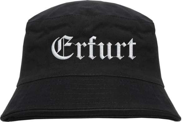 Erfurt Fischerhut - Altdeutsch - bestickt - Bucket Hat Anglerhut Hut