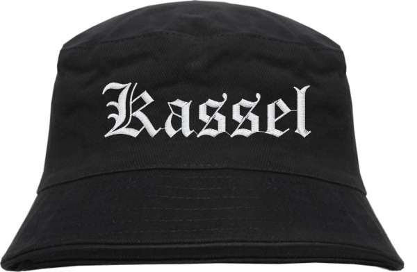 Kassel Fischerhut - Altdeutsch - bestickt - Bucket Hat Anglerhut Hut Anglerhut Hut