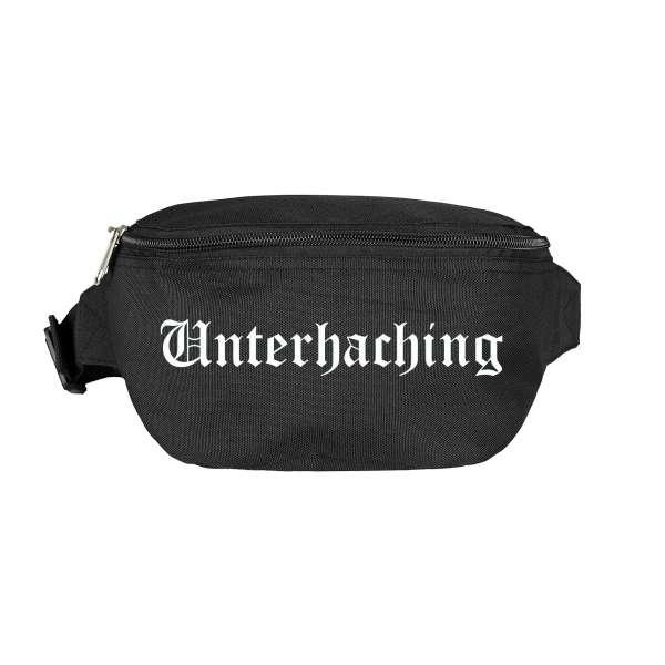 Unterhaching Bauchtasche - Altdeutsch bedruckt - Gürteltasche Hipbag