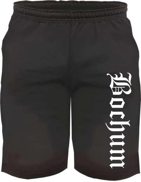 Bochum Sweatshorts - Altdeutsch bedruckt - Kurze Hose Shorts