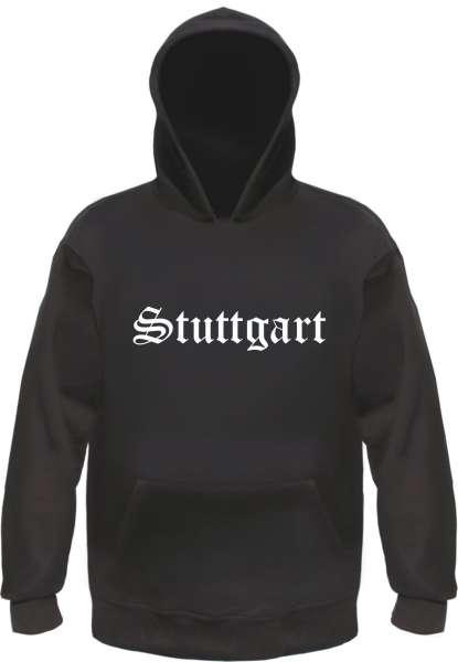 Stuttgart Kapuzensweatshirt - Altdeutsch - bedruckt - Hoodie Kapuzenpullover