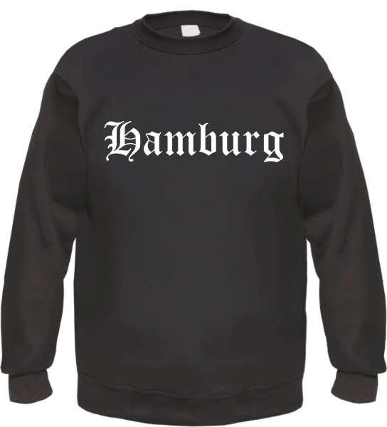 Hamburg Sweatshirt - Altdeutsch - bedruckt - Pullover