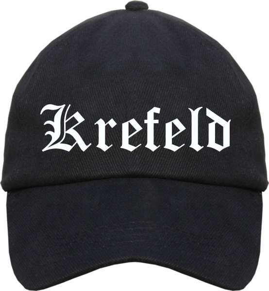 Krefeld Cappy - Altdeutsch bedruckt - Schirmmütze Cap
