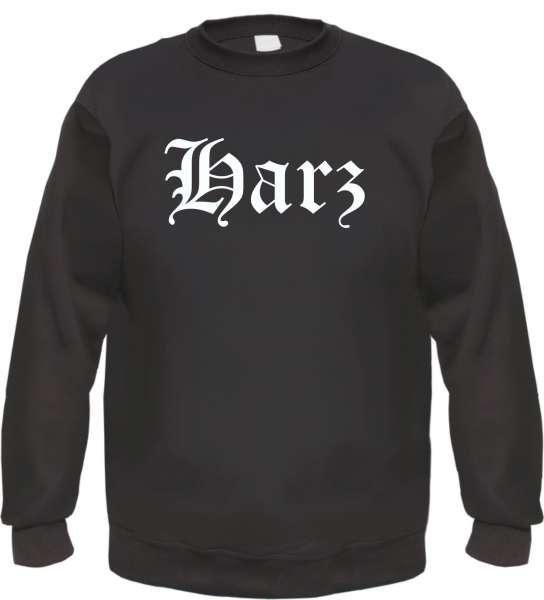 Harz Sweatshirt - Altdeutsch - bedruckt - Pullover
