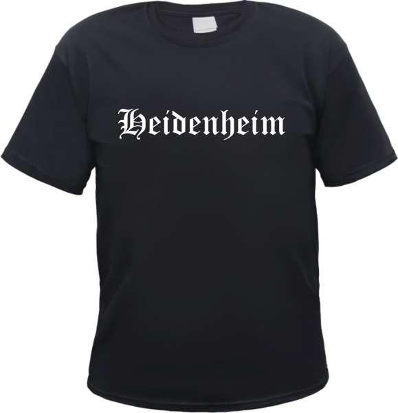 Heidenheim Herren T-Shirt - Altdeutsch - Tee Shirt
