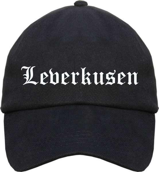 Leverkusen Cappy - Altdeutsch bedruckt - Schirmmütze Cap