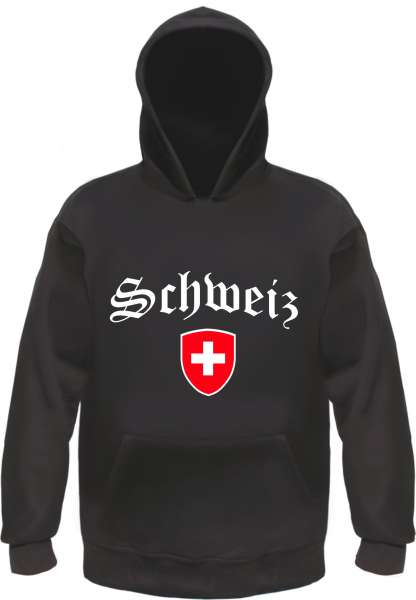 SCHWEIZ Kapuzensweatshirt - Hoodie