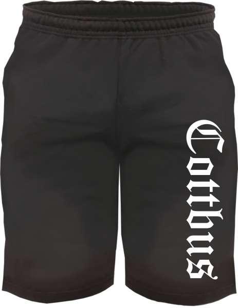 Cottbus Sweatshorts - Altdeutsch bedruckt - Kurze Hose Shorts