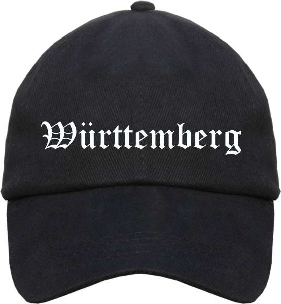 Württemberg Cappy - Altdeutsch bedruckt - Schirmmütze Cap