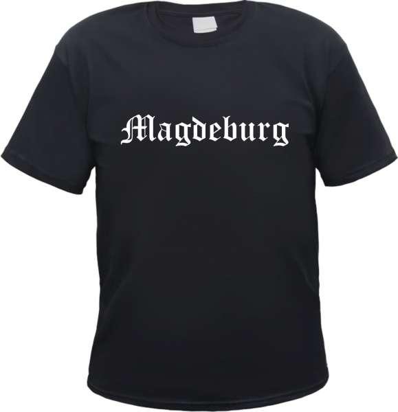 Magdeburg Herren T-Shirt - Altdeutsch - Tee Shirt